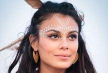 MAKE UP / Burning Man Make up, Halloween Make up and Creative Make up