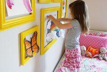 Kid's room / Kid bedroom and playroom ideas / by Christine S.