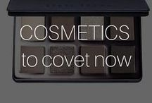 Cosmetics to Covet Now / The beauty stuff dreams are made of - our ultimate 2die4 pencils, liners, makeup brushes, lip glosses, eye creams & more I #Beautyinthebag