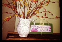 Fall Decor / by Rory