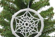 """Crochet Snowflakes / Time is like a snowflake, disappears while we're trying to decide what to do. Romano Battaglia, from """"Il fiume della vita"""""""