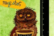 What my #Coffee says to me 2013© / Caffeinated illustrations for your love of coffee. The series from 2012 continues. New goal 365 by December 31st 2013. These illustrations are created and the intellectual property of Jennifer R. Cook© What my #Tea says to me©