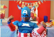 PARTY - Super Hero Party Ideas
