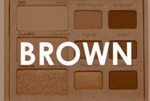 The Brown Board / Brown, tan, taupe, neutrals that pull at our heart strings  I #Beautyinthebag