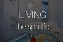 Living The Spa Life / Some of our favorite spas for relaxation, renewal and rejuvenation - and the BEST treatments you've got to try for yourself!  I #Beautyinthebag