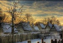 Plimoth Plantation and Jamestown/Living History / by Charisse Goforth