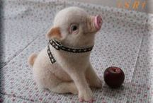 PIGS / Pigs, piglets and swine have captured the hearts of many people. Piglets are so cute.