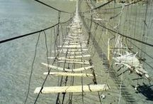 BRIDGES / Bridges span land, islands, even countries. Some bridges are primitive while others highly sophisticated.