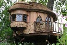 TREE HOUSES / Tree houses come in all sizes and from primitive to highly sophisticated.