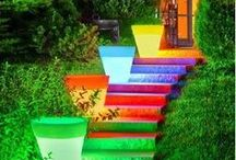 STAIRWAYS / Stairs of all types, colors, styles.