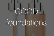 Good Foundations / #Flawlessfaces begin with #perfectshades and #natural tones - we've picked the best foundation, #concealers and #BBCreams for you I #Beautyinthebag