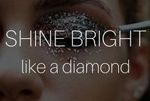 Shine Bright like a Diamond / Silver, gold, shimmery delights - make your #eveninglook special by taking it up a notch with these sequined goodies  I #Beautyinthebag