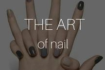 The Art of the Nail / Do you keep yours short and straight, or is your style long and lavish? #Nails are IN and we honor the women who have the time, creativity, and imagination to be on trend. I #Beautyinthebag