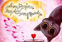 What my #Coffee says to me 2014© / Caffeinated illustrations for the love of coffee. The series from from 2012, 2013 and now into 2014 with 732 caffeinated illustrations. These illustrations are the intellectual property of Jennifer R. Cook© What my #Coffee says to me©