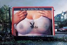 Billboard, Sign & Outdoor  unconventional communication / Cartelloni pubblicitari creativi/alternativi e comunicazione esterna inusuale