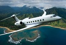 Luxury Jets & Helicopters / Luxurious private Jets, Superjets,  dream planes and helicopters, futuristic aerial vehicles