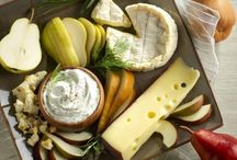 Inspiring exquisite cheeses & related dishes / All types of cheeses from all over the world, cheese platters and tasteful dishes with cheese