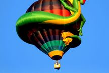 Hot Air Baloons / Extravagant, funny, tremendous vehicles for compelling, priceless and dreamy way of fly
