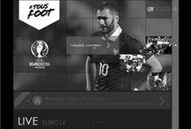 UX Euro 2016 #tousfoot / Conception, design d'interaction et architecture de l'information du magazine de l'EURO 2016 #tous foot