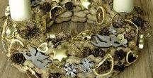 Eigene Basteleien/Kränze/Weihnachten/Christmas wreath