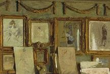 interior paintings / by Luc Cromheecke