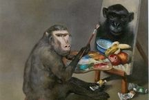 monkey artists / by Luc Cromheecke