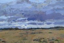 L. Cromheecke landscape paintings / more on http://cromheeckeunplugged.blogspot.com/