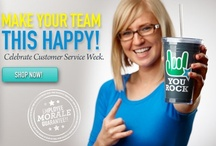 Customer Service Week / Celebrate your customers and customer service team with these appreciation ideas. / by Baudville