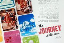 scrapbooking layouts I love