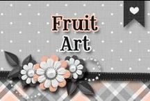 » Fruit Art / Beautiful & Creative Fruit Art ♥