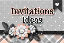 » Invitation Ideas / Creative & Beautiful Ideas To Create An Invitation ♥