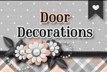 » Door Decorations / All Kinds Of Cute & Creative Door Decor ♥