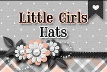 » Little Girls Hats / All Kinds Of Beautiful Little Girls Hats ♥