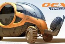 OEX Vehicles / OEX is conceptual vehicle for the future of Overland Expeditions, designed by HAMID BEKRADI as his masters degree project which was initially sponsored by IVECO.