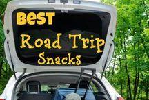 Road Trip Snacks / Gluten, Dairy, & Nut Free #AllergyFriendly Snacks for Road Trips & Hotel Traveling  / by Keeley McGuire Blog