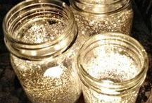 Mason Jar Fun /  #Masonjars aren't just for canning anymore. Be inspired.
