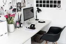Inspired Workspaces / For better or for worse, many people spend countless hours at their desks.  Spice up your cubicle with these tips! / by Baudville