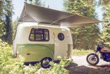 C A M P I N G / Campers, vans, surf mobile, travel