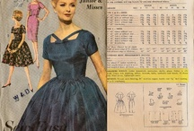 Vintage Sewing Patterns / Vintage Sewing Patterns are great eye candy and serve as superb examples of period construction and styles.
