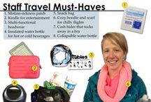 Must Have Travel Gear / Like you, we travel ... a lot. And while we continue to master the fine art of packing, there is always a handful of must-haves that are steadfast staples on our packing-lists. Here are some of our top travel items that Adventure Lifers never leave home without. / by Adventure Life