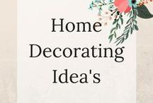 Home Decorating Ideas / Amazing Ideas to redecorate your home