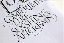JOYFUL LETTERING ❤️ calligraphy / A veritable cornucopia of lettering both traditional and modern. Some beautiful work here www.ellenwaldren.com