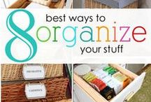 HOME - Cleaning & Organizing / A curated list of cleaning and organizing ideas from lifestyle blogger, Simply {Darr}ling.