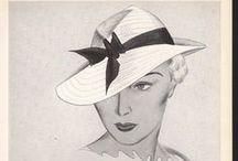 Hat Ads / Vintage hat advertisements