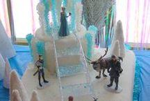 Anniversaire - Reine des neiges