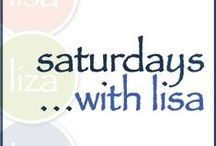 Saturdays with Lisa / Live webcast every Saturday (10am PT; 1pm ET) with creative craft demos, chat and prizes! Sessions are recorded for viewing any time on lisalizalou.com / by Lisa Liza Lou Designs