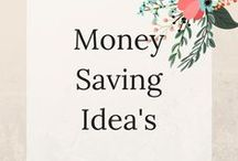 Money Saving Ideas / Home to save money and stick to a budget