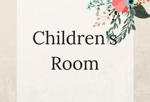 Children's Room / Fun decor ideas for kids