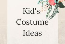 Kids Costume idea's / Fun DIY Costumes