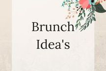 Brunch Idea's / Brunch Recipies and Tips